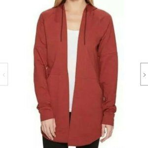 Adidas Long Sleeve Open Front Hoodie Coverup
